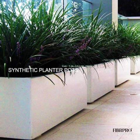 SYNTHETIC PLANTER POTS